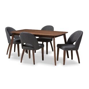 Dall 5 Piece Dining Set Corrigan Studio