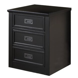 Maeve Wooden 3 Drawer Accent Cabinet by Longshore Tides