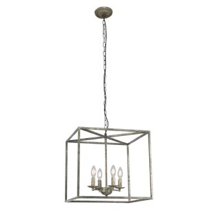 Pendergrass 4-Light Square/Rectangle Chandelier
