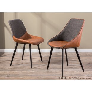 Patino Upholstered Dining Chair (Set of 2) George Oliver