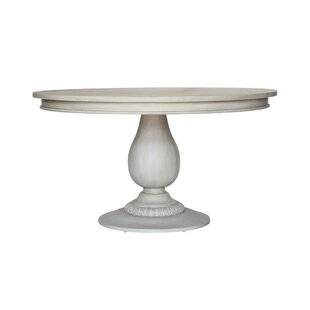 Charlotte Pedestal Wooden Dining Table by..