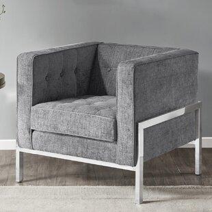 Alex Chesterfield Chair by Ivy Bronx