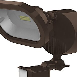 Nuvo Lighting LED Outdoor Security Flood Light with Motion Sensor