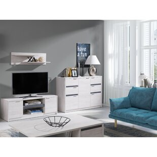 Olcay Entertainment Unit For TVs Up To 85