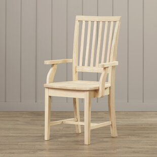 Pleasanton Solid Wood Dining Chair Loon Peak