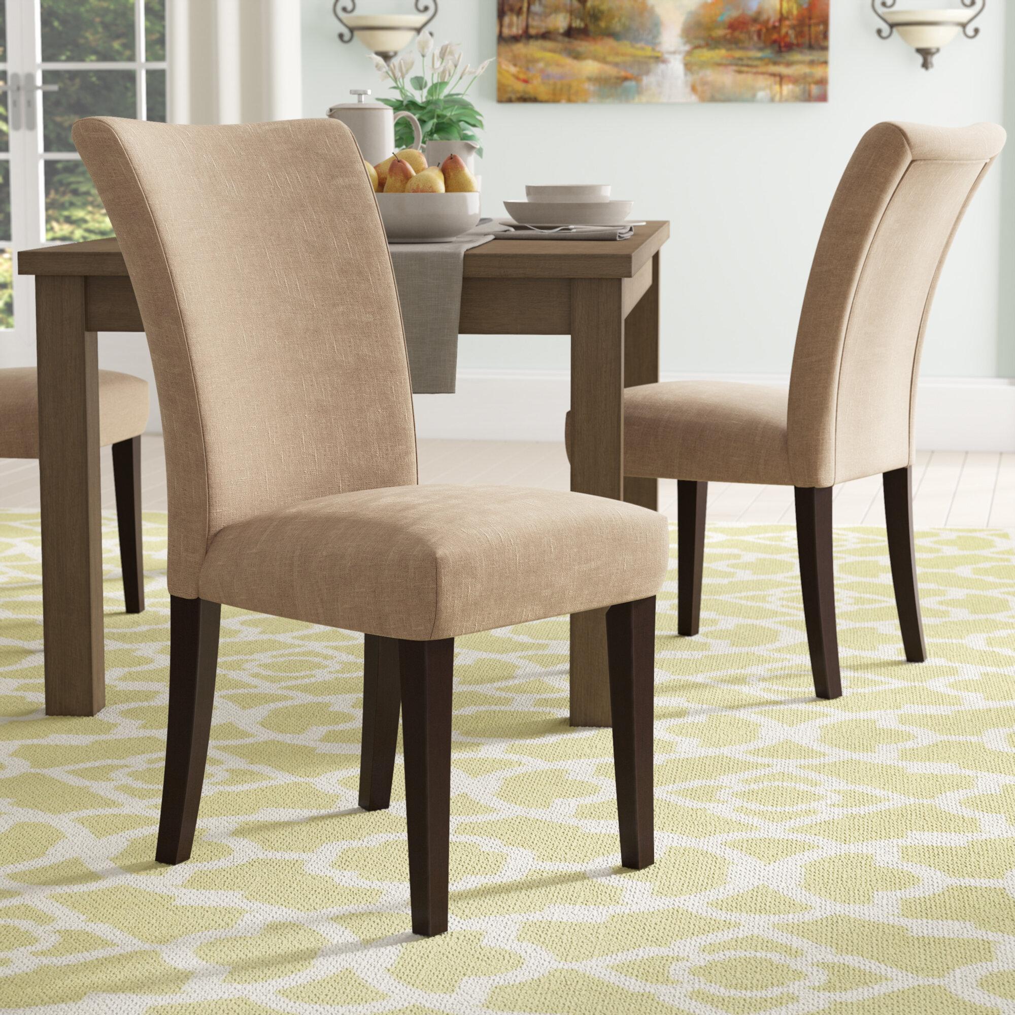 Tremendous Doerr Linen Parson Upholstered Dining Chair Ncnpc Chair Design For Home Ncnpcorg