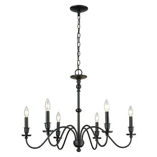 Charlton Home Deberry 6-Light Candle Styl..