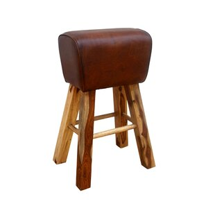 Gallatin Leather Pommel Horse Stool By Williston Forge