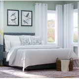 Tia Upholstered Standard Bed by Darby Home Co
