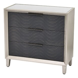 Blomkest Wood 3 Drawer Accent Chest by Williston Forge