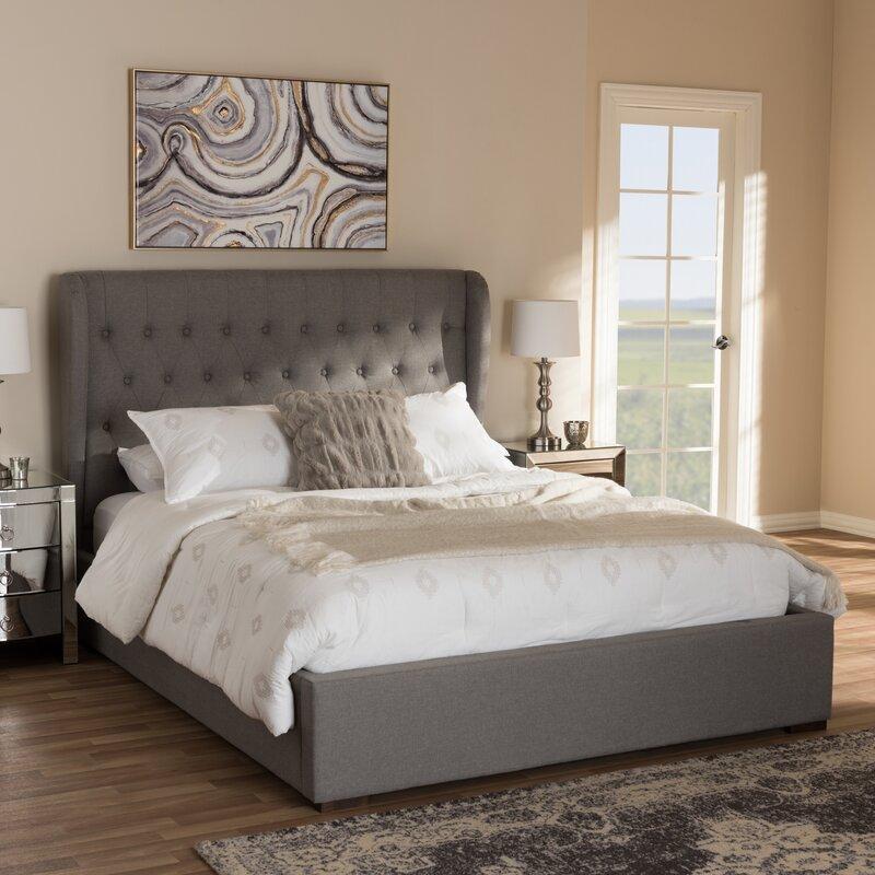 Sedgwick Contemporary Wood Storage Platform Bed