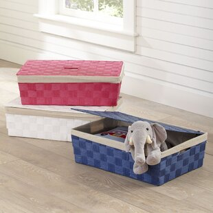 Check Prices Lidded Underbed Basket By Birch Lane Kids™