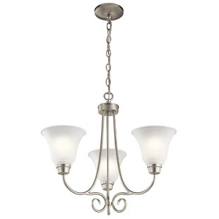 Darby Home Co Bourneville 3-Light Shaded Chandelier