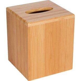 Bamboo Square Boutique Tissue Box Cover