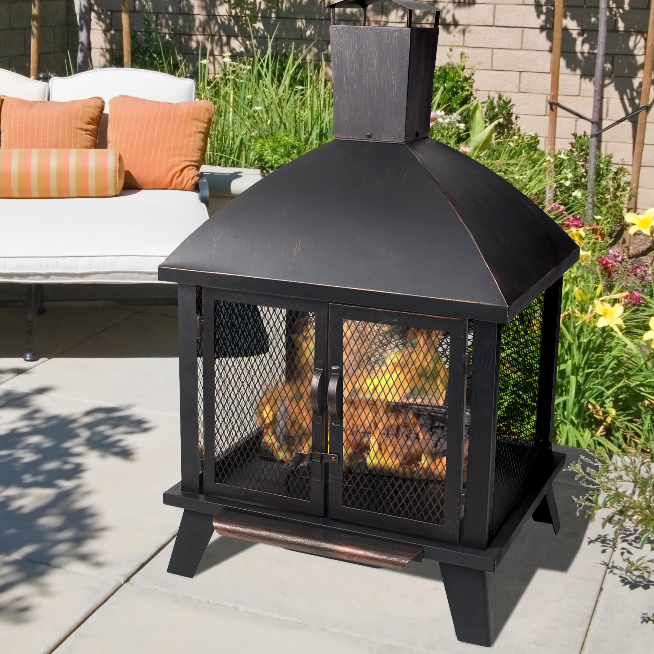 Latitude Run Outdoor Fireplaces Fire Pits You Ll Love In 2021 Wayfair