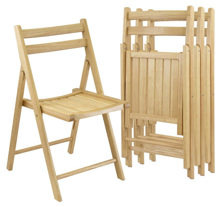 Winsome Folding Chair Set & Reviews   Wayfair