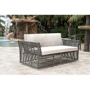 Loveseat with Sunbrella Cushions by Panama Jack Outdoor