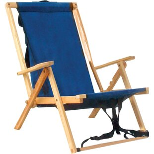 Blue Ridge Chair Works Reclining Beach Chair