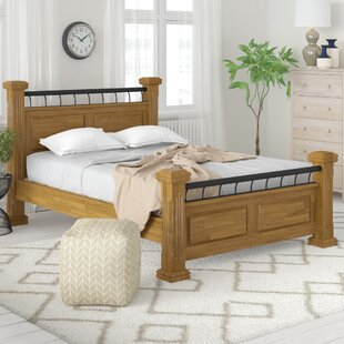 Midland Upholstered Four Poster Bed By Ophelia & Co.