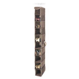 Whitmor, Inc 10-Compartment Hanging Shoe Organizer (Set of 6)