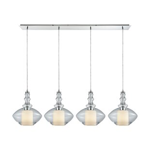 Brayden Studio Cabell 4-Light Kitchen Island Pendant