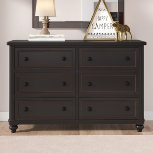 Aerial 6 Drawer Double Dresser