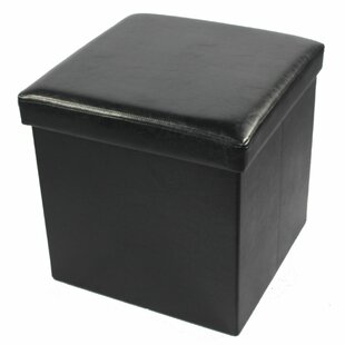 Leiser Collapsible Storage Ottoman