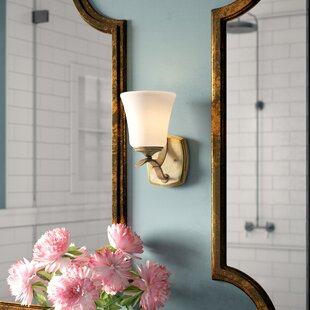 Fealty 1-Light Bath Sconce by Willa Arlo Interiors