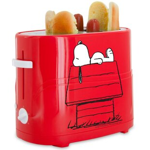 2 Slice Snoopy Hot Dog Toaster