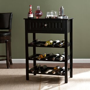 Darby Home Co Raabe 15 Bottle Floor Wine Bottle Rack
