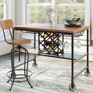 Laurel Foundry Modern Farmhouse Elberton Rectangular Counter-Height Dining Table