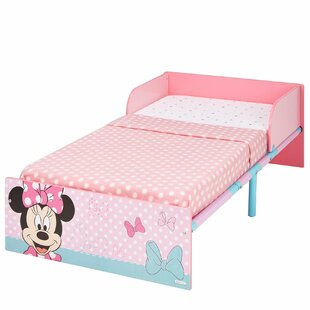 Ella Disney Minnie Mouse Toddler Bed Frame By Mickey Mouse & Friends