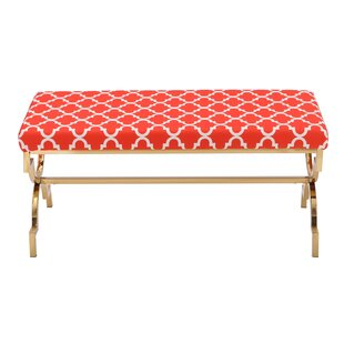 Everly Quinn Eladia Metal Bench