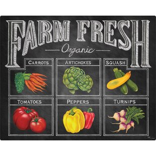 Farm Fresh Cutting Board ByMagic Slice
