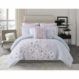 Esti Floral Reversible Comforter Set