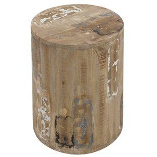 Roan Cylinder Decorative Stool by Castleton Home