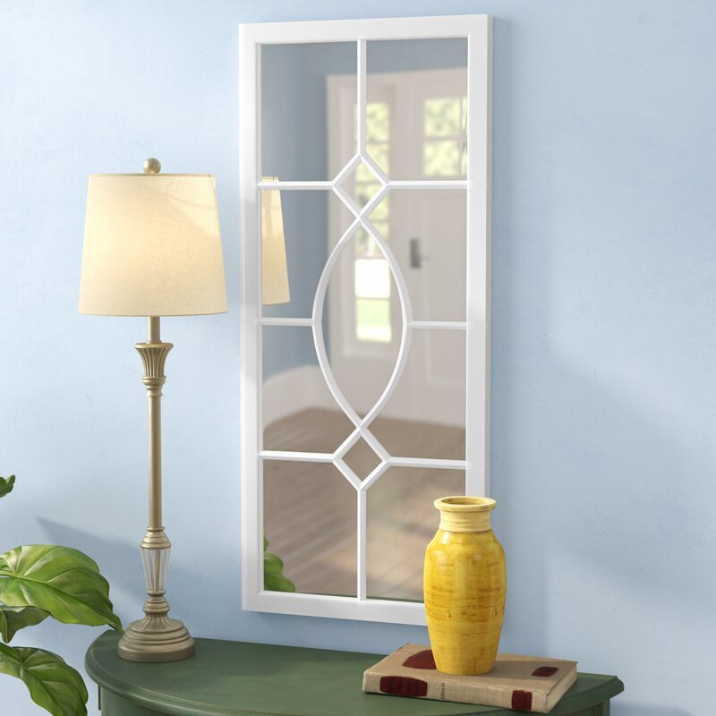 Mercersburg Window Wall Accent Mirror & Alcott Hill Mercersburg Window Wall Accent Mirror \u0026 Reviews | Wayfair
