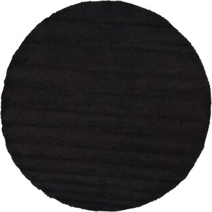 Lilah Black Area Rug by Andover Mills