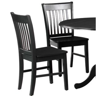 Spiller Solid Wood Dining Chair (Set of 2..