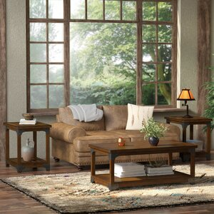 Heil 3 Piece Coffee Table Set