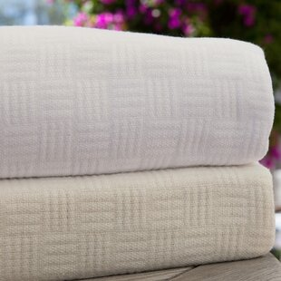 Luxury Rayon from Bamboo Cotton Weave Blanket