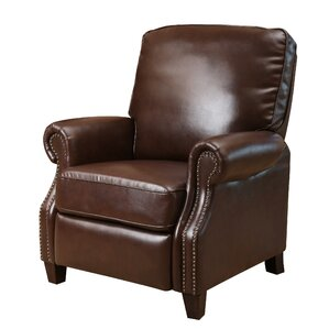 wheatland push back leather recliner - Leather Rocker Recliner