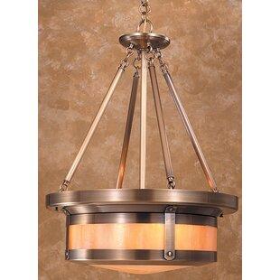 Arroyo Craftsman Berkeley 4-Light Drum Ch..