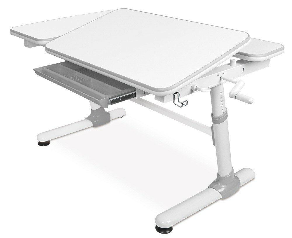 Stupendous Height Adjustable 47 W Art Desk With Drawer Download Free Architecture Designs Embacsunscenecom