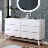 Fouke 6 Drawer Dresser by Corrigan Studio®