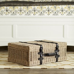 Affordable Schulenburg Rattan Suitcase By Highland Dunes