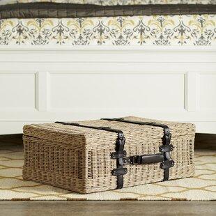 Schulenburg Rattan Suitcase ByHighland Dunes