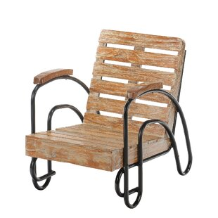 Coeburn Wood Slat Patio Lounge Chair