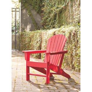 Lupe Plastic Adirondack Chair