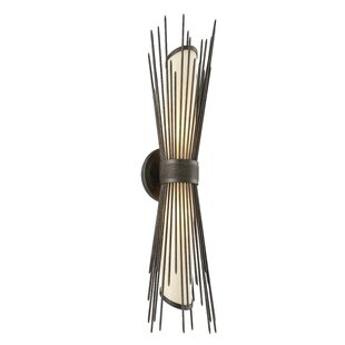 Best Karla Modern 2-Light Outdoor Sconce By Bloomsbury Market
